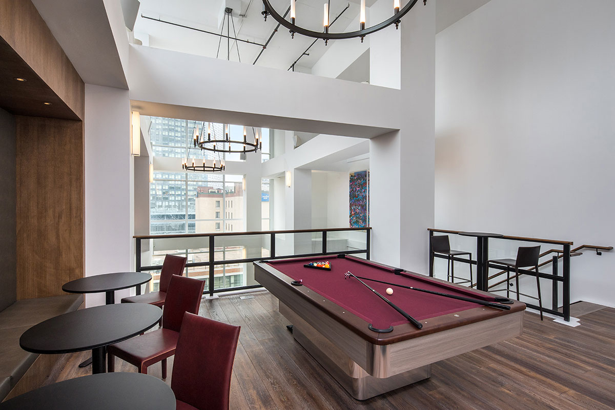 Luxury Rentals Game Room